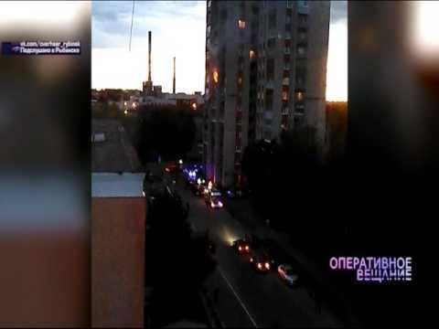 ВИДЕО: В Рыбинске в многоэтажке вспыхнула квартира