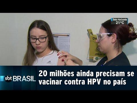 20 milhões de crianças e adolescentes precisam se vacinar contra HPV no país | SBT Brasil (05/09/18)