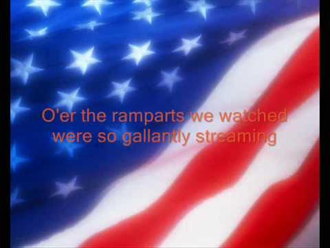 USA National Anthem With Lyrics