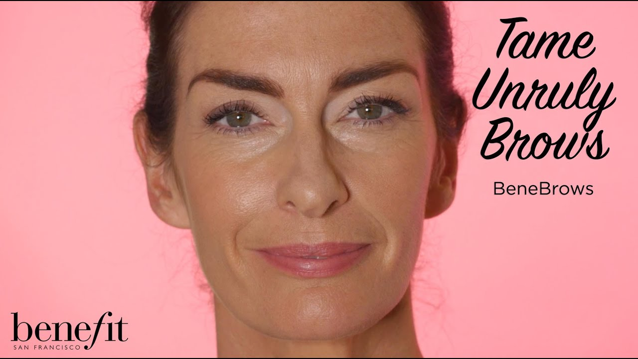 Benebrows How To Tame Unruly Brows Youtube