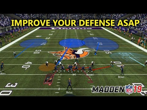 IMPROVE YOUR DEFENSE ASAP || MADDEN 19 TIPS TO WIN MORE GAMES