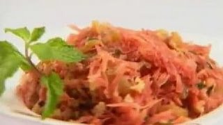 Carrot & Raisin Salad - Sanjeev Kapoor - Khana Khazana