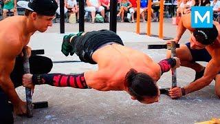 Street Workout World Champion 2018 - San Gohan | Muscle Madness