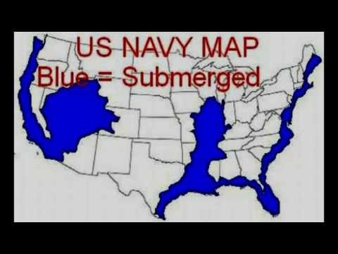 Us Navy Future Map Of Usa - Us navy map of future america