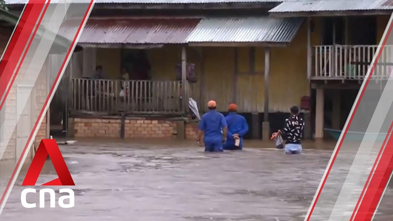 (MALAYSIA, December 2019) Thousands evacuate as floods worsen in Kelantan, Terengganu