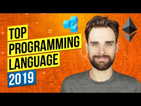 Top Programming Language 2019 -  Answer Might Surprise You (Hint: Blockchain)