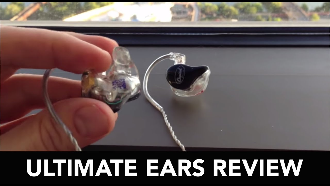 Ultimate Ears In Ear Monitor : ultimate ears custom in ear reference monitor review youtube ~ Hamham.info Haus und Dekorationen