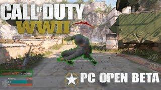 Call of Duty  WWII OPEN BETA PC | MI PRIMERA PARTIDA Y ME VA MAL | CrishanBR