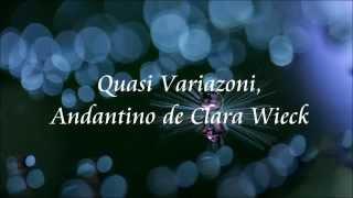 シューマン    クララ・ヴィークの主題による変奏曲