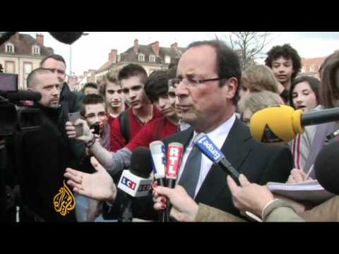 French presidential campaigns in final stages