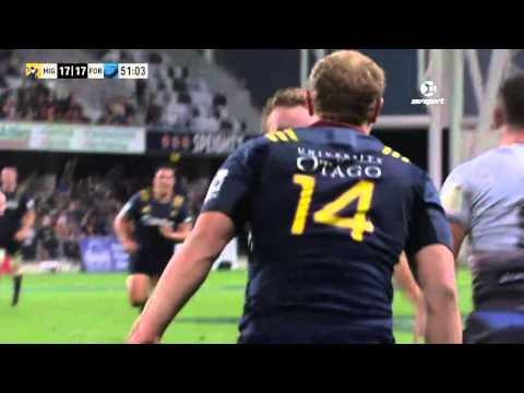 Super Rugby: Highlanders V Force (Round 6)