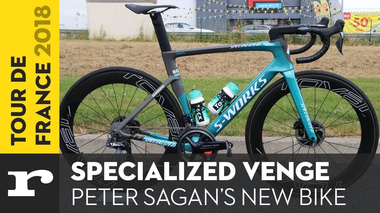 Tour de France 2018   Peter Sagan s Specialized Venge   YouTube Tour de France 2018   Peter Sagan s Specialized Venge