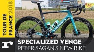 Tour de France 2018 - Peter Sagan's Specialized Venge