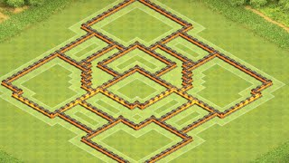 Clash of clans Rathaus 10 Trophy Base/RH 10 CK Dorf I Clash of Bases