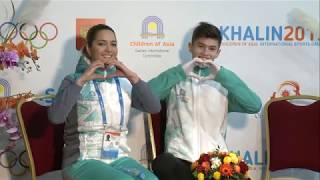 Дети Азии 2019 Фигурное катание Одиночное катание короткая программа юноши