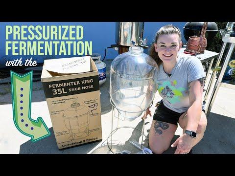 Pressurized Fermentation with the Keg King 'Ferm King' Snub Nose Fermenter