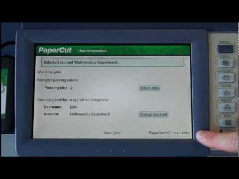 PaperCut MF - print, copy and scanning control for Toshiba e-BRIDGE