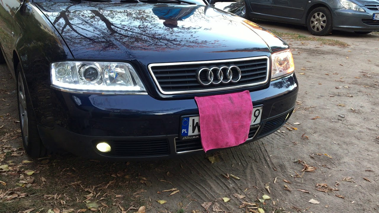 Audi A6 C5 A6klubpl światła Dzienne Led Pasek Modułowy Z Kierunkowskazem Odradzam