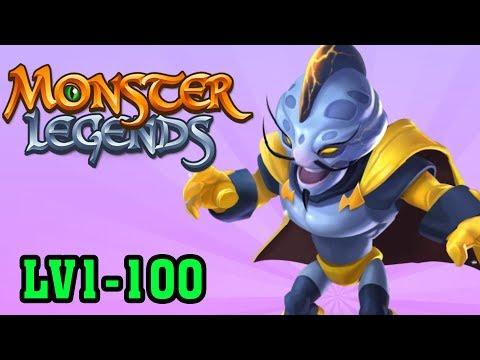COPYCAT LV1-LV100 Huyền Thoại Ông Trùm Phản Diện | Monster Legends - Dragon City Phiên Bản Quái Vật