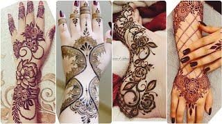 Beautiful Mehndi/ Henna Designs For Engagement Bride|Front/Back Hand Foot Mehndi Designs