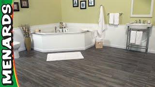Install Snapstone Floor Tiles Menards, Laminate Tile Flooring Menards