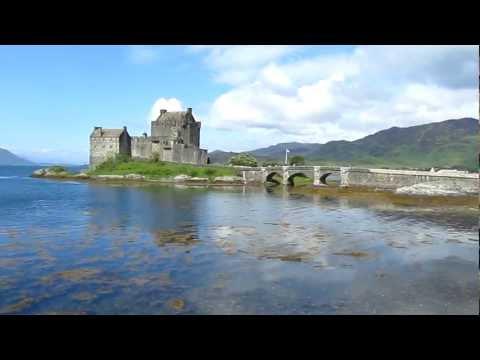 Eilean Donan Castle, Loch Duich, Western Highlands, Scotland, United Kingdom, Europe