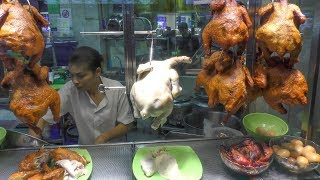 Great Singapore Street Food in Lau Pa Sat Hawker Centre