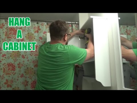 how-to-hang-a-bathroom-cabinet