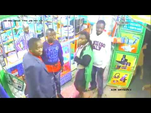 WATCH | Cheeky Robbery in KENYA caught on CCTV! | Kenya News Today