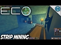 Eco | Minecraft Style Strip Mining | Let's Play Eco Gameplay | S01E15