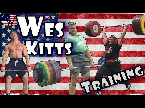 Wes Kitts (USA, 105KG)   Olympic Weightlifting Training   Motivation