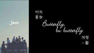 【認聲韓中字】 BTS 방탄소년단 - Butterfly (Full ver.) Lyrics with Hangul
