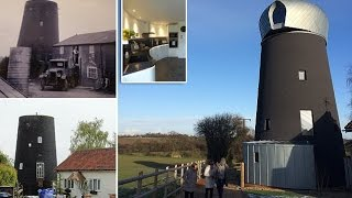 Fury as historic 125 year old windmill is converted into an 'eyesore' holiday home that 'looks like