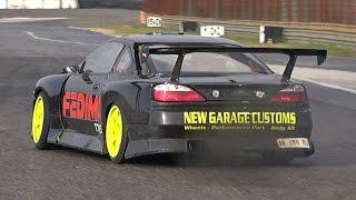 600HP 1JZ Turbo Powered Nissan Silvia S15 Engine Swap!!