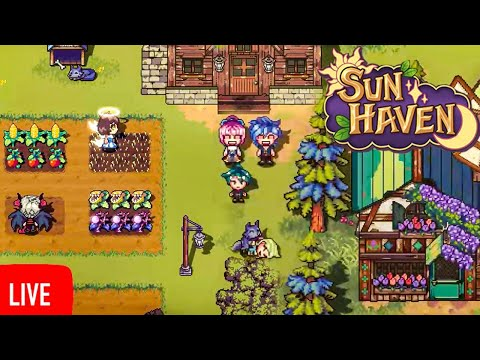 A NEW RPG Farming Sim That's Actually Good! Sun Haven Gameplay