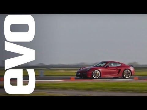Porsche Cayman GTS on board, Bedford Autodrome