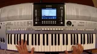 Binary Finary - 1998 - piano keyboard synth cover by LiveDjFlo