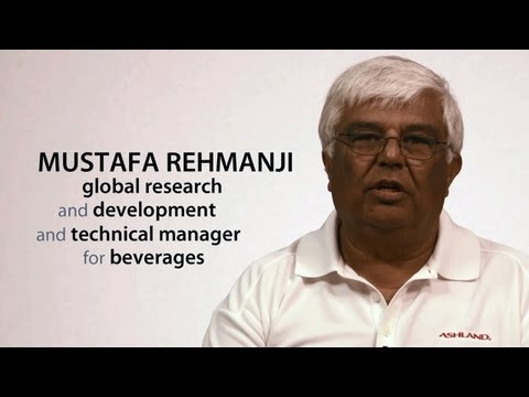 Mustafa Rehmanji, global research and development and technical manager