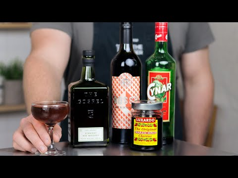 BOULEVARDIER variation, the Man About Town!