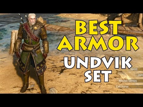 BEST ARMOR | Undvik Set | Witcher 3: Wild Hunt
