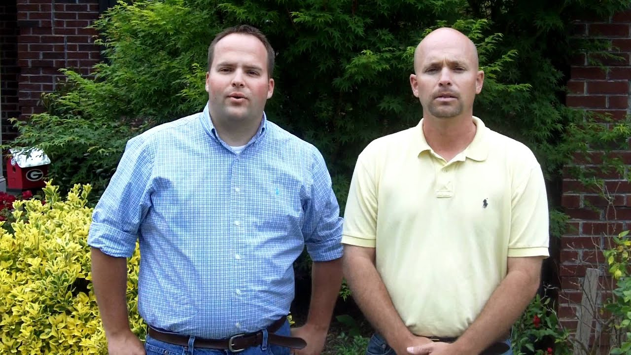 Pete & Thomas Williams from All American Exteriors greet customers ...