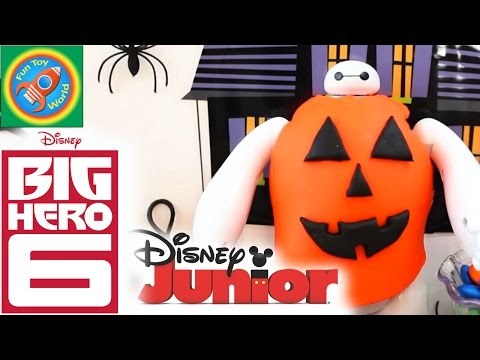 play-doh-how-to-baymax-halloween-costume-with-mickey-and-minnie-mouse-diy