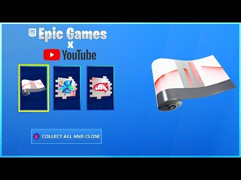 How To Get YOUTUBE PACK And LINK Your YouTube And EPIC Account In Fortnite!