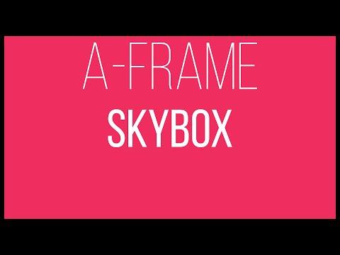 A-Frame WebVR Tutorial 8 - Skybox