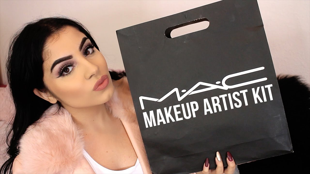 MAC Freelance Makeup Artist Kit Essentials  YouTube