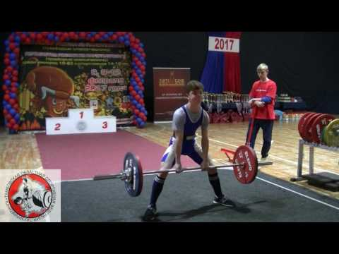 Первенство России по пауэрлифтингу 14-18