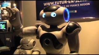 【デジタルコンテンツEXPO】人型ロボット「NAO」が一般公開