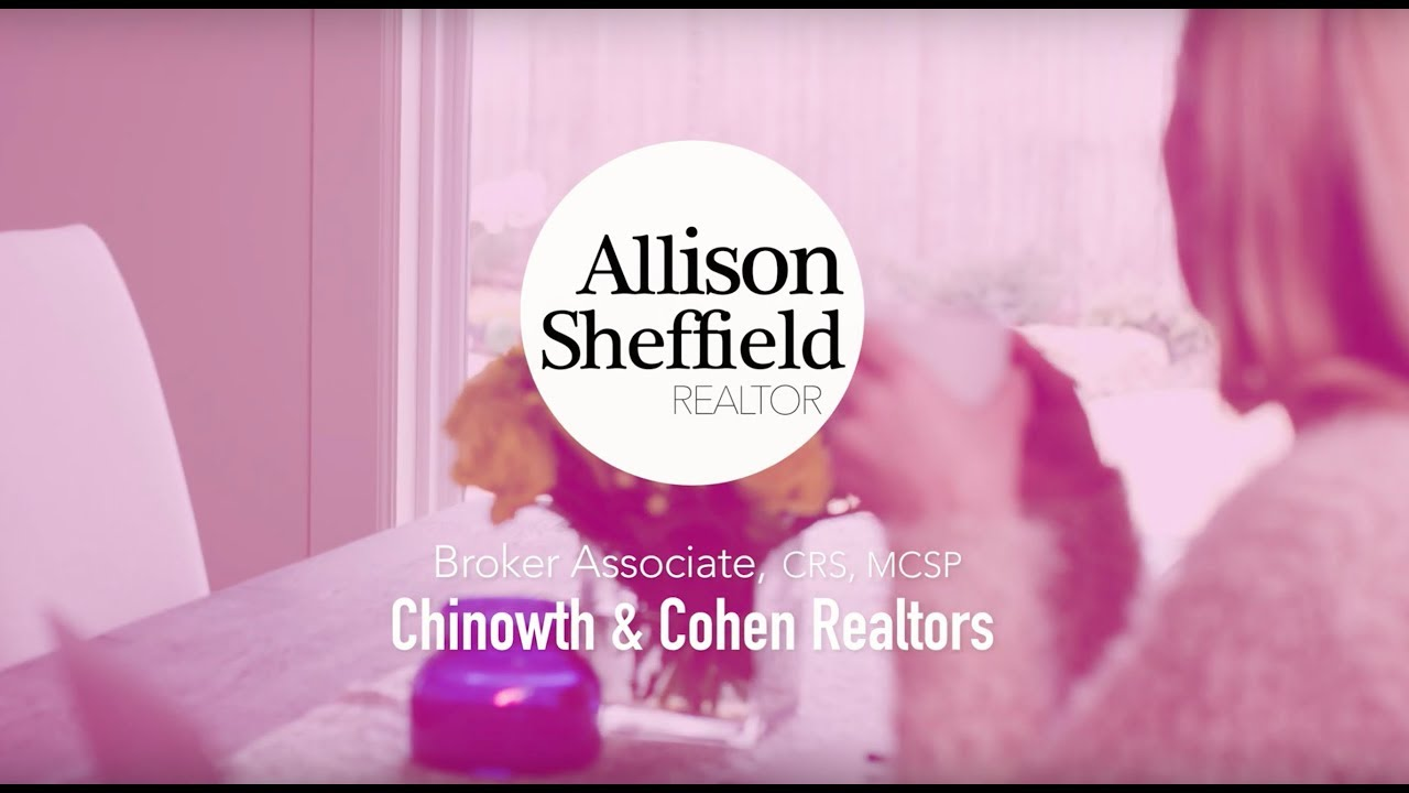 Exciting Announcement from Allison Sheffield, Realtor with Chinowth and Cohen Realtors