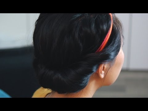Your New Favorite Everyday Hairstyle: The Princess Roll!