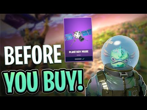 Leviathan | Planetary Probe Glider - Before You Buy - Fortnite